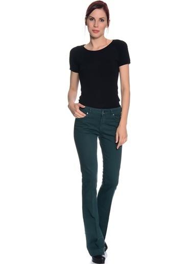 Fabrika Bol Paça Pantolon Yeşil